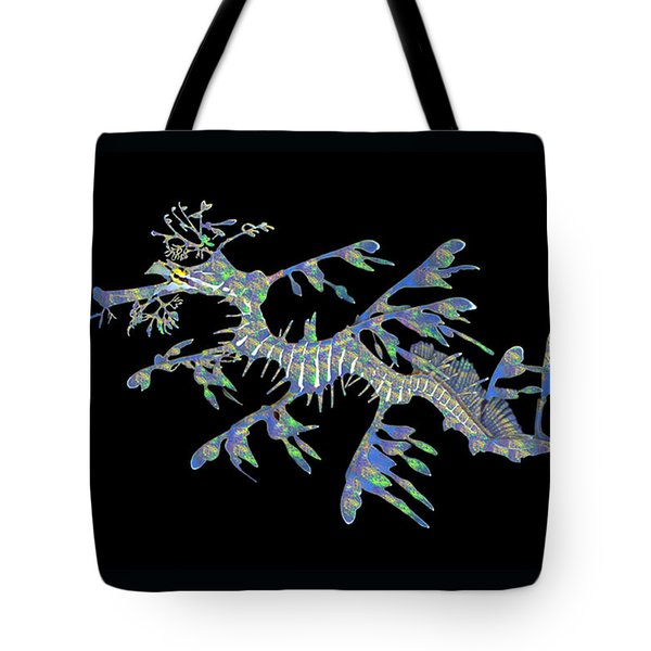 Opalised Sea Dragon Tote Bag