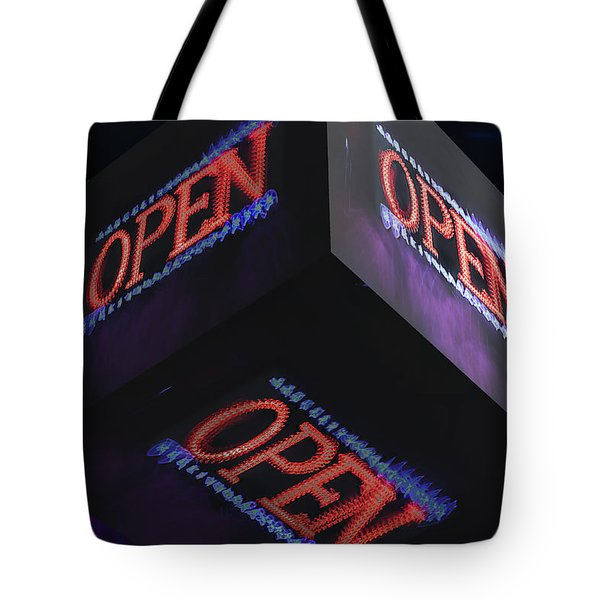 Open 2 - Tote Bag