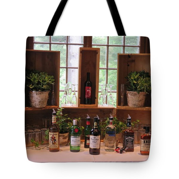 Tote Bag featuring the photograph Open Bar by Robin Regan