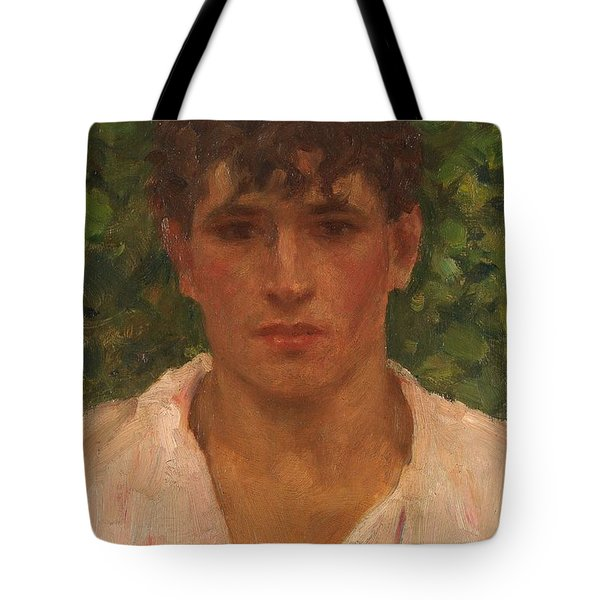 Open Collar Tote Bag by Henry Scott Tuke