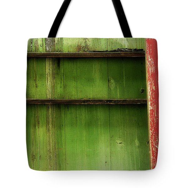 Tote Bag featuring the photograph Open Door by Mike Eingle