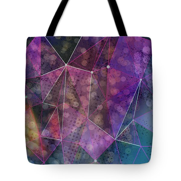 Open Geometric Tote Bag