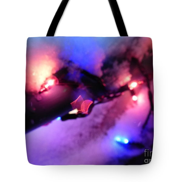 Open Heart Magical Lights Tote Bag
