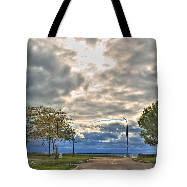 Open Heavens  Tote Bag