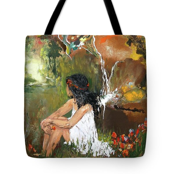 Open-minded Tote Bag