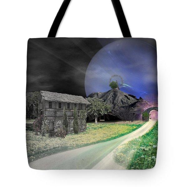 Open Portal Tote Bag