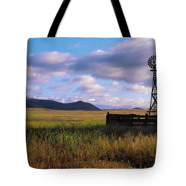 Open Range Pano View Tote Bag