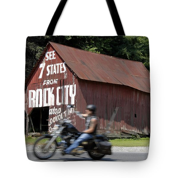 Open Road Tote Bag by David Lee Thompson