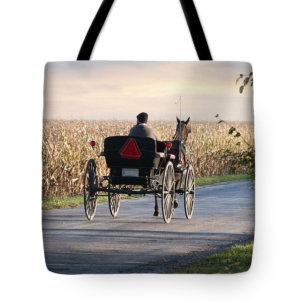 Open Road Open Buggy Tote Bag