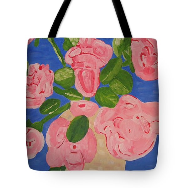 Open Roses I Tote Bag by Olivia  M Dickerson