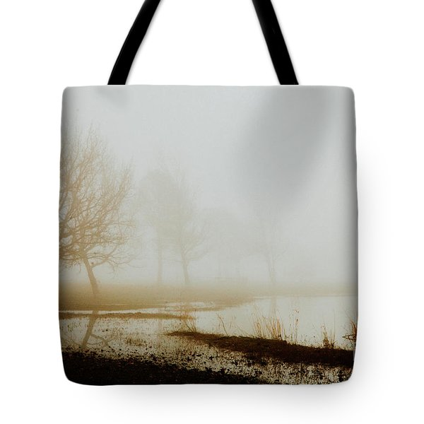 Tote Bag featuring the photograph Open Space by Iris Greenwell