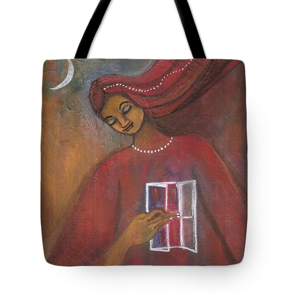 Open The Windows To Your Soul Tote Bag