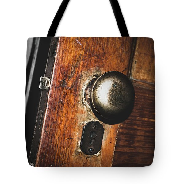 Open To The Past Tote Bag