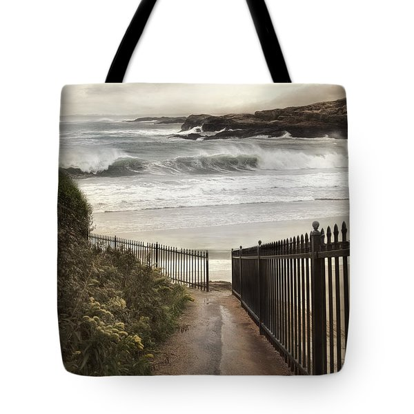 Tote Bag featuring the photograph Open To The Sea by Robin-Lee Vieira