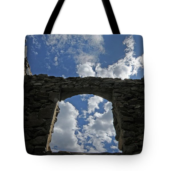Open To The Sky Tote Bag