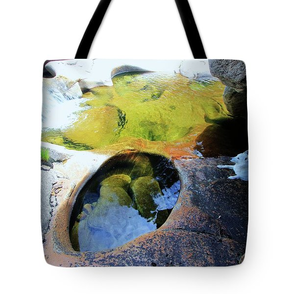 Open Your Mind....the Heart Will Follow Tote Bag by Sean Sarsfield