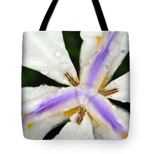 Tote Bag featuring the photograph Open Your Petals by Amanda Eberly-Kudamik