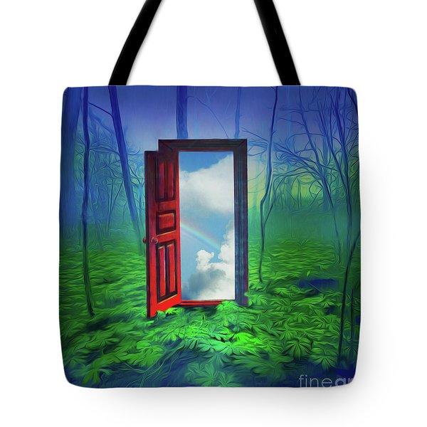 Opening Doors Tote Bag