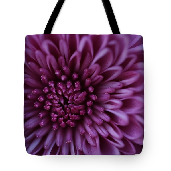 Purple Mum Tote Bag by Glenn Gordon