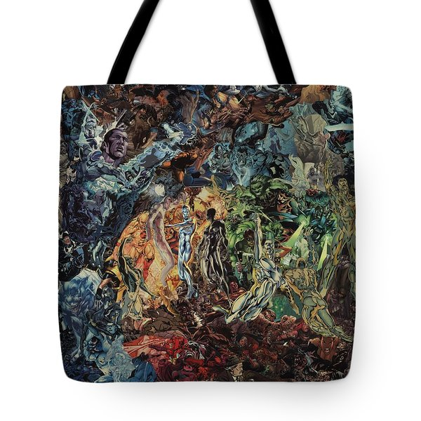 Opening Of The Fifth Seal After El Greco Tote Bag