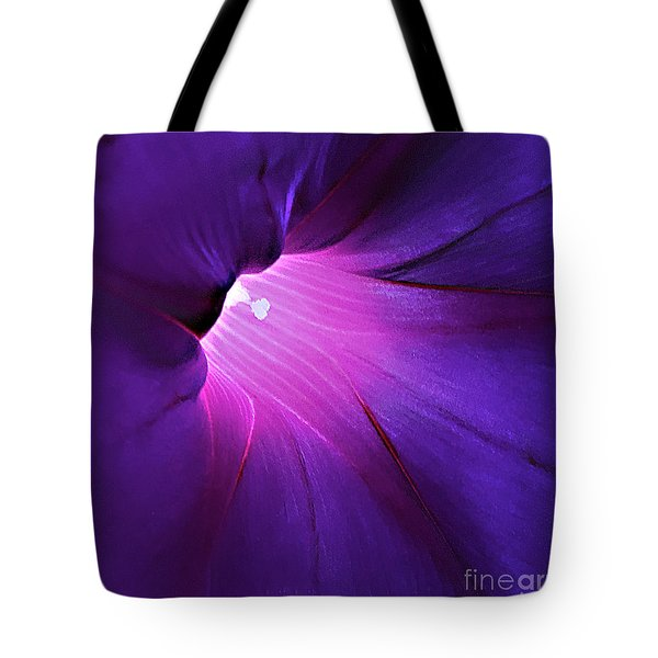 Opening One's Heart Tote Bag by Sherry Hallemeier