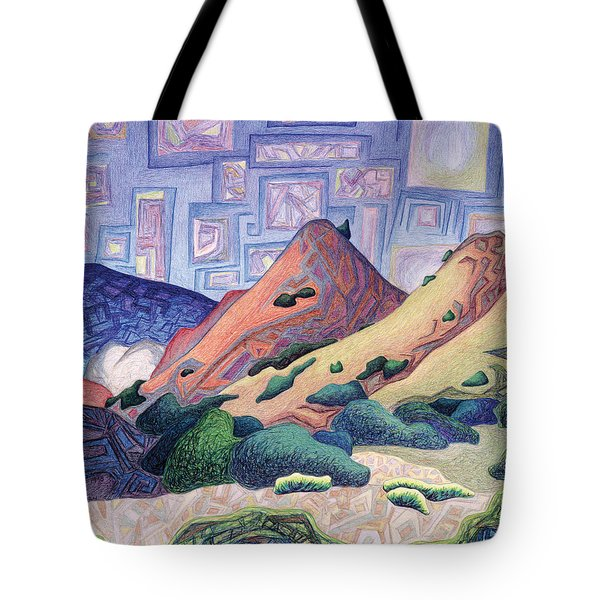 Opening The Dream Window Tote Bag by Dale Beckman