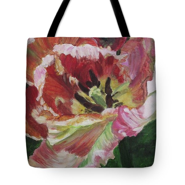 Opening Up Tote Bag by Kim Selig