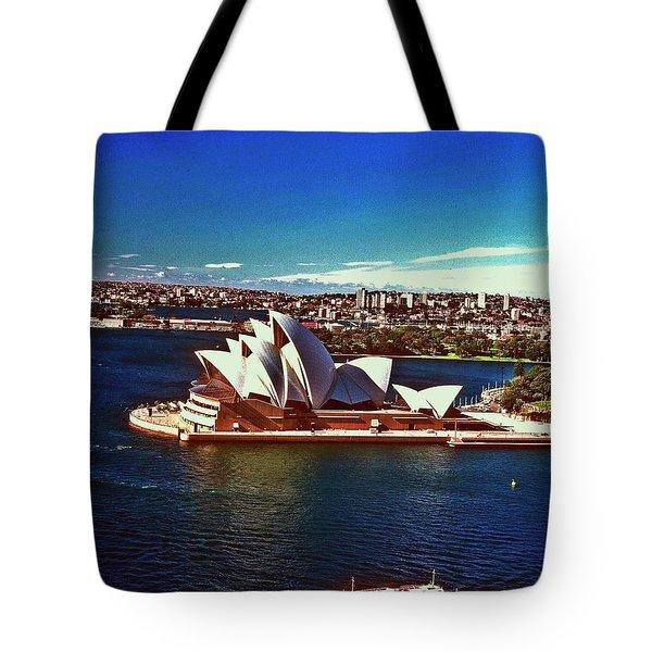 Opera House Sydney Austalia Tote Bag