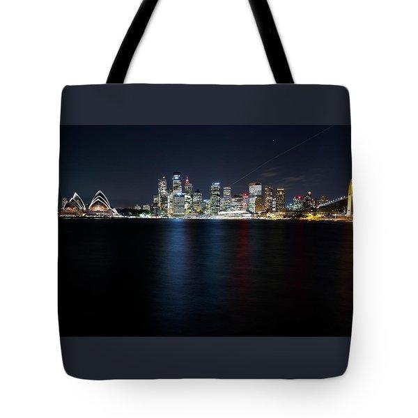 Harbour Streak Tote Bag