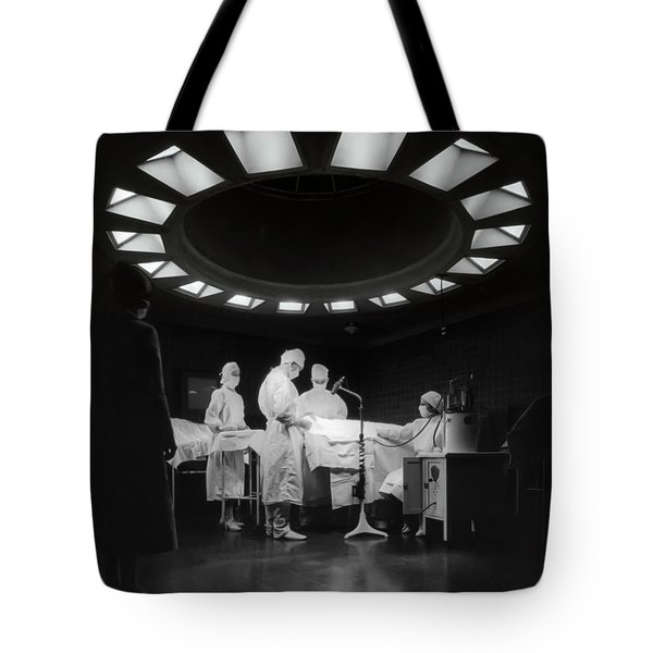 Tote Bag featuring the photograph Operating Room Theater 1933 by Daniel Hagerman