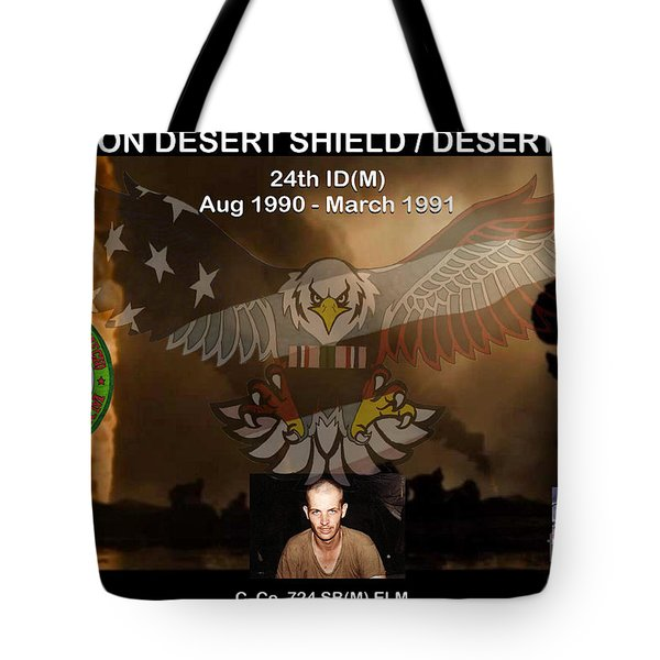 Operation Desert Shield/storm Tote Bag