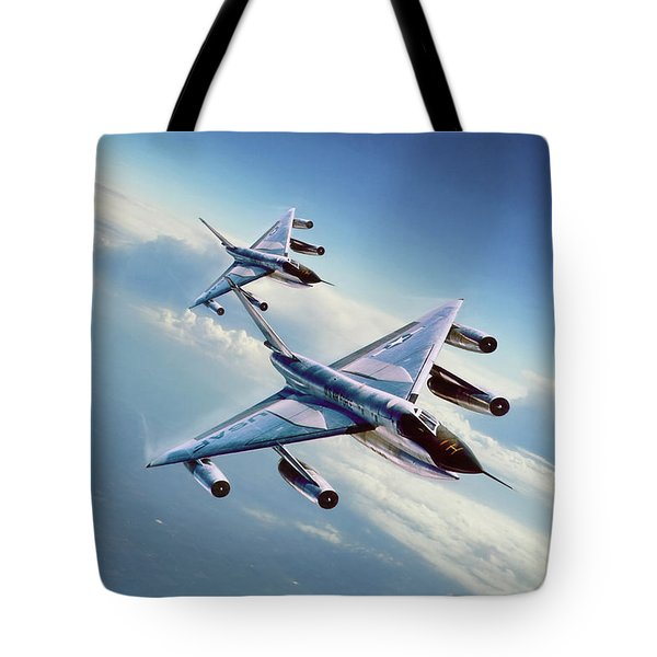 Tote Bag featuring the digital art Operation Heat Rise by Peter Chilelli