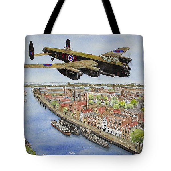 Operation Manna II Tote Bag by Gale Cochran-Smith