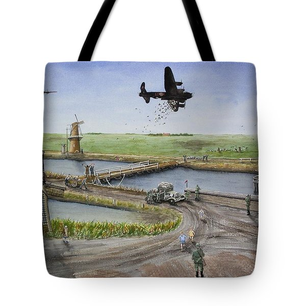 Operation Manna IIi Tote Bag by Gale Cochran-Smith