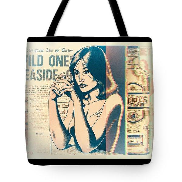 Ophelia 1976 Tote Bag by Udo Linke