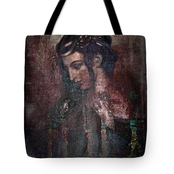 Ophelia Tote Bag by Mimulux patricia no No