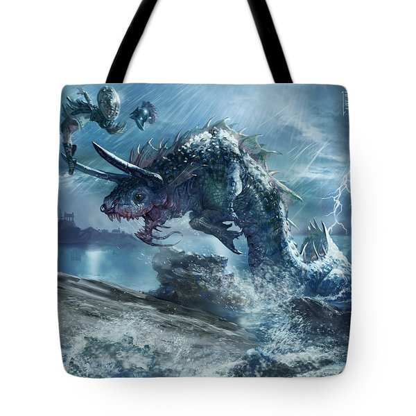 Ophiotaur Attack Tote Bag