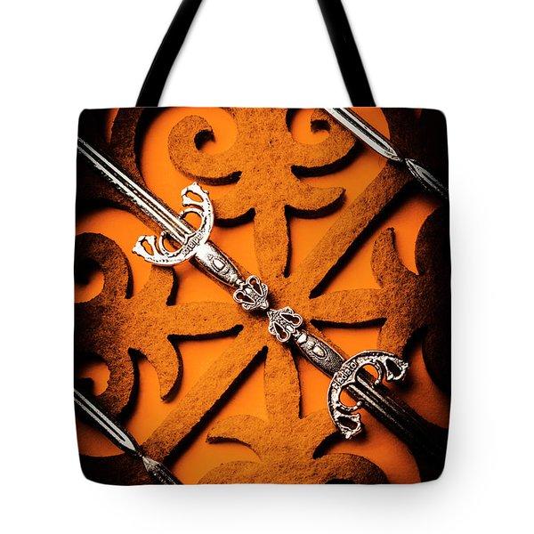 Opposing Empires Tote Bag