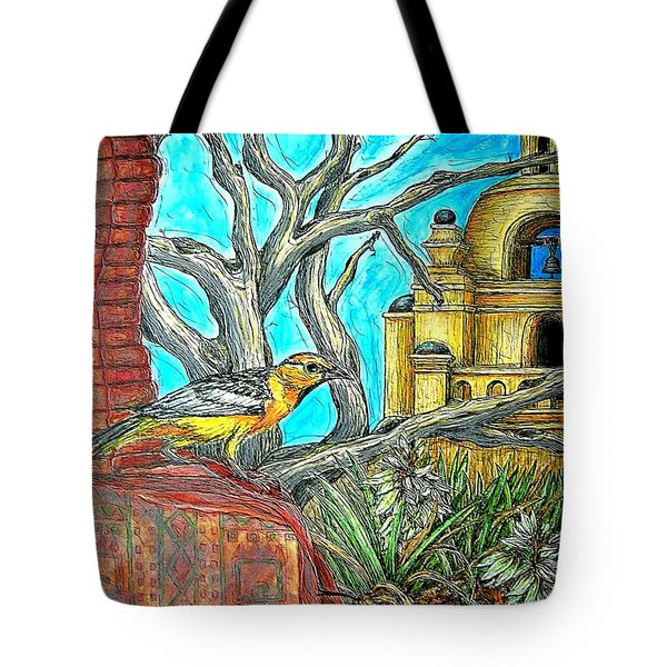 Opposing Points Of View Tote Bag by Kim Jones