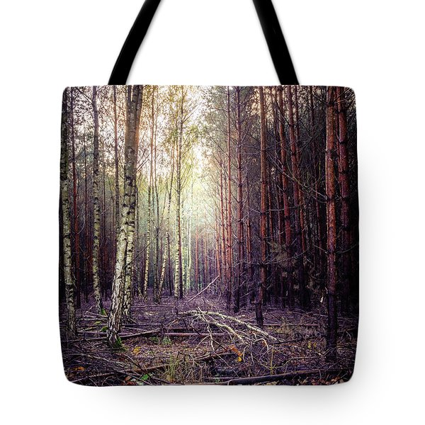 Tote Bag featuring the photograph Opposition by Dmytro Korol
