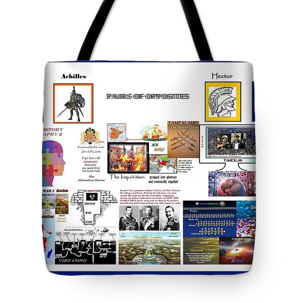 Wrecked Angles Tote Bag