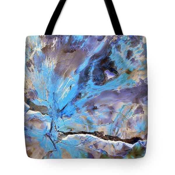 Cracking Glacier Tote Bag