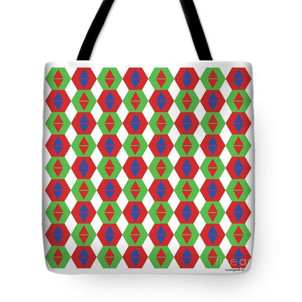 Optical Illusion No 3. Tote Bag