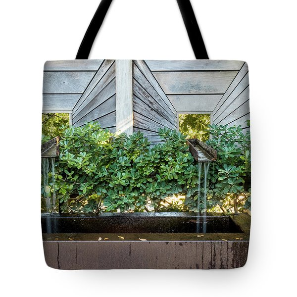 Tote Bag featuring the photograph Optical Illusion by Penny Lisowski