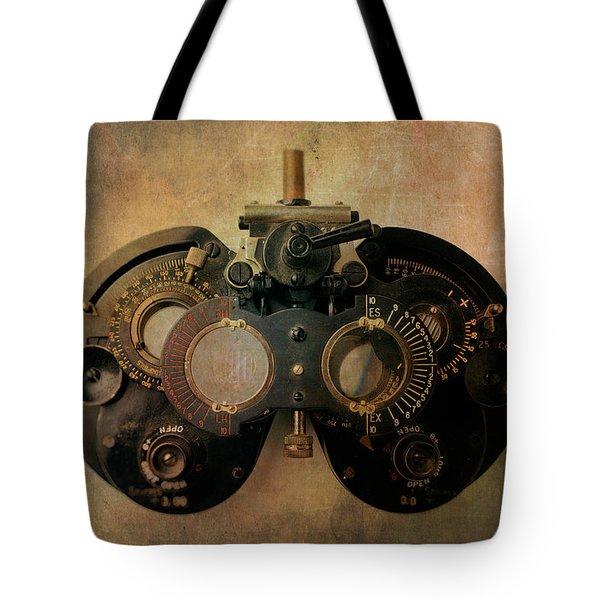 Optometrist Equipment Tote Bag
