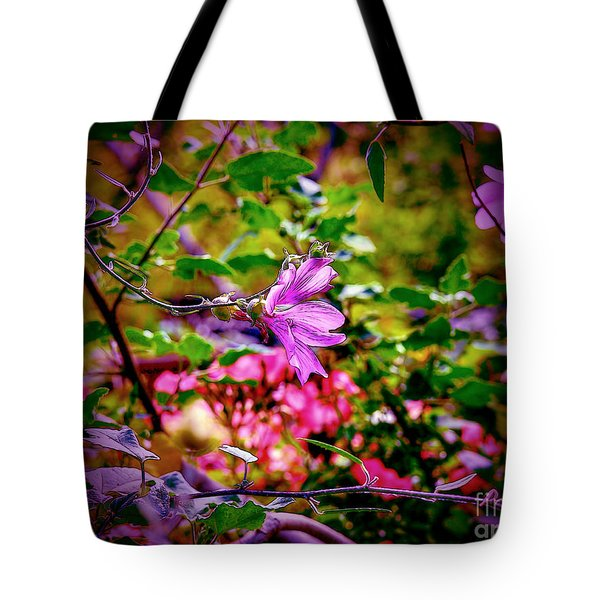 Opulent Lily Tote Bag