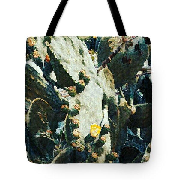 Opuntia Ficus Tote Bag