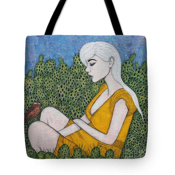 Opuntia Tote Bag by Natalie Briney