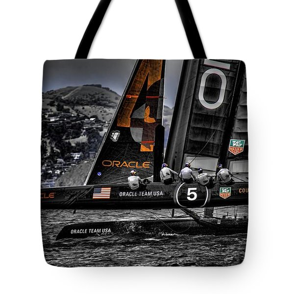 Oracle Winner 34th America's Cup Tote Bag
