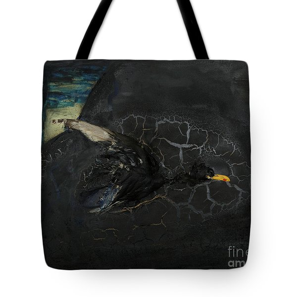 Oracular Inquiry - Ecological Footprint - Drilling Permits - Crude Oil Offshore Energy - Das Orakel Tote Bag